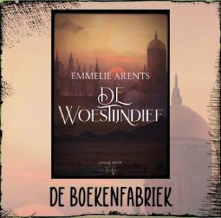 Recensie door De boekenfabriek van De woestijndief geschreven door Emmelie Arents voor de blogtour van Hamley Books uitgeverij