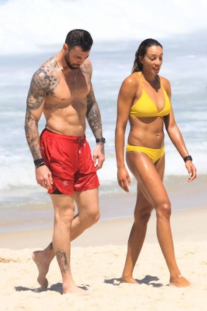 Brandie Wilkerson – In a bikini in Rio de Janeiro