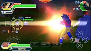 Dragon Ball Z TTT Mod ISO PPSSPP