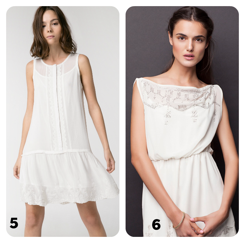 primavera verano vestidos blancos tendencias