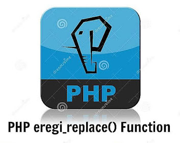 PHP eregi_replace() Function