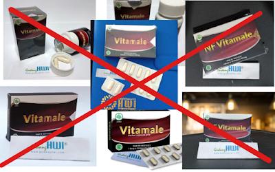 perbedaan vitamale asli dan palsu kw