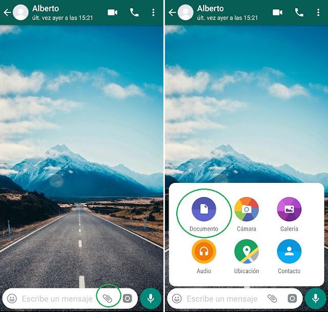 enviar imágenes sin perder calidad por whatsapp