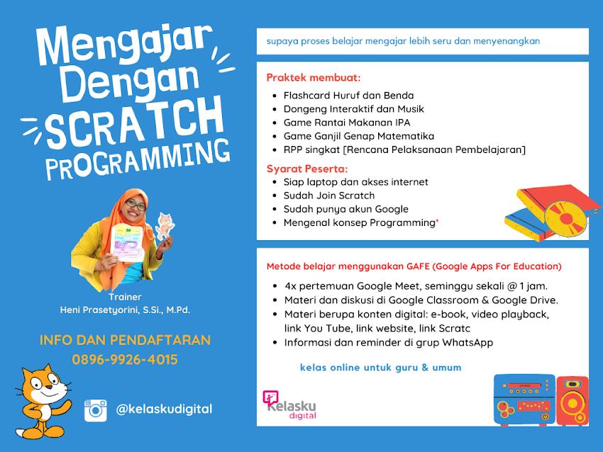 Mengajar dengan Scratch Programming
