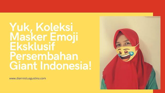 Masker Emoji Giant Hero