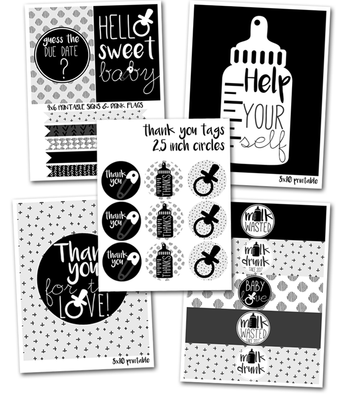 http://www.partyboxdesign.com/item_1990/Black-and-White-Baby-Shower-Printables.htm