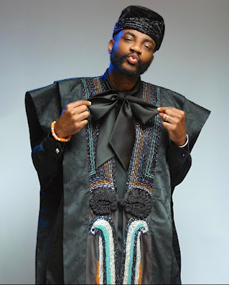 Unconventional Agbada designs
