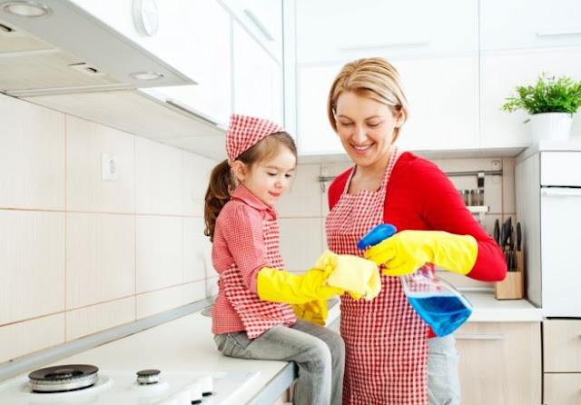 Cách lau chùi dọn nhà nhanh và sạch