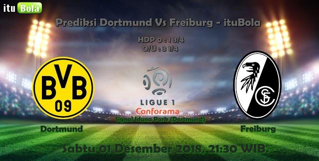 Prediksi Dortmund Vs Freiburg - ituBola