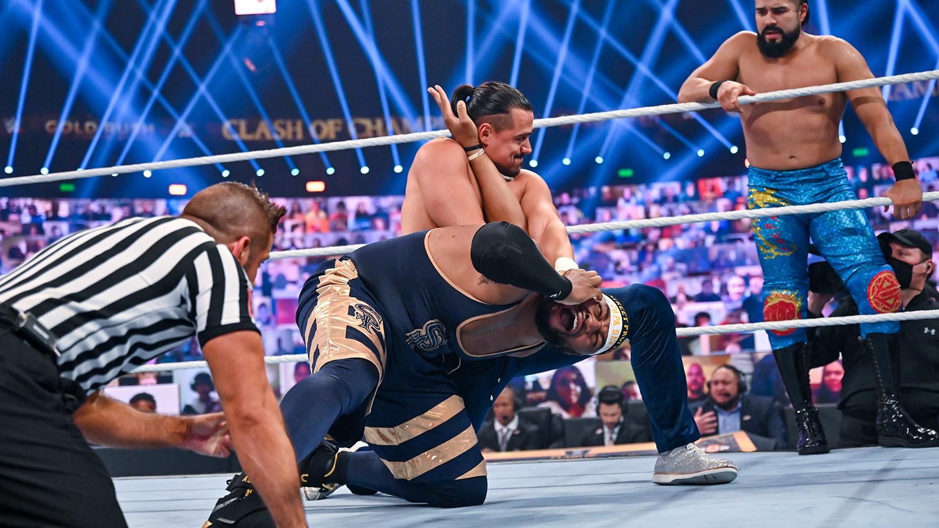 Angel Garza pode ter se lesionado durante seu combate no WWE Clash of Champions