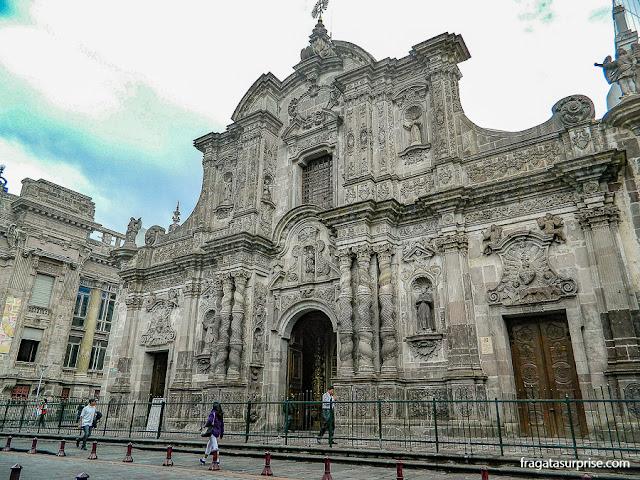 Igreja de La Compañia, Quito, Equador