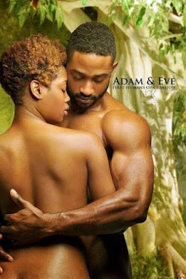 adam and eve Black Biblical characters