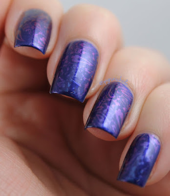 Shifty Stamping by Bedlam Beauty
