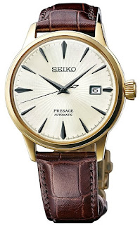"SEIKO PRESAGE Automatic Champagne Gold Cocktail Time ""Margarita"" SRPB44J1"