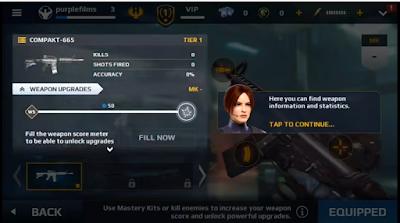 Modern Combat 5: eSports FPS v2.5.0i Mod Apk God Mode
