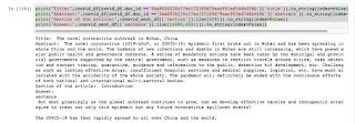 COVID19: Question-Answering Model using BioSentVec Embedding 6