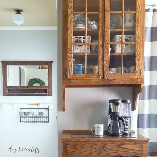 Changes in the kitchen diy beautify for Things in a coffee bar