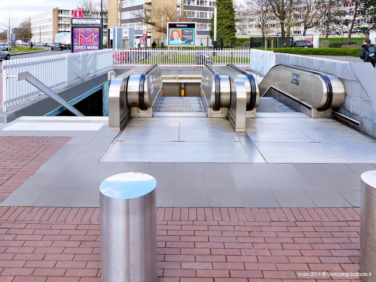Station de Métro Carliers, Tourcoing