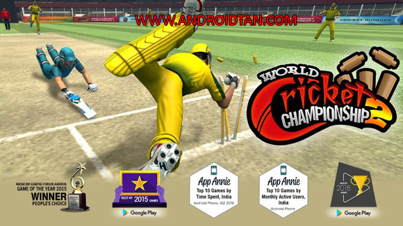 Download World Cricket Championship 2 Mod Apk + Data v2.8.6.6 All Unlocked Free VIP Android Terbaru 2019