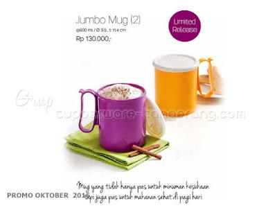 Jumbo Mug ~ Tupperware Promo Oktober 2016