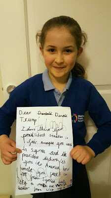 7 Year Old Girl Pens Brilliant Letter To President Trump