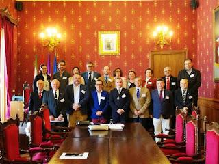 Secretariado junto a los priores de Andalucía