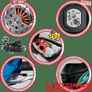 Fitur dan Spesifikasi Honda BeAT eSP CBS Sporty FI