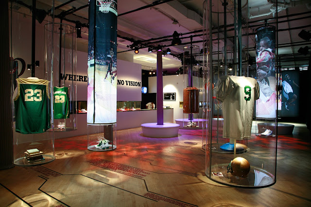 Green Pear Diaries, retail, pop up store, Nike Zoom LeBron IV, New York