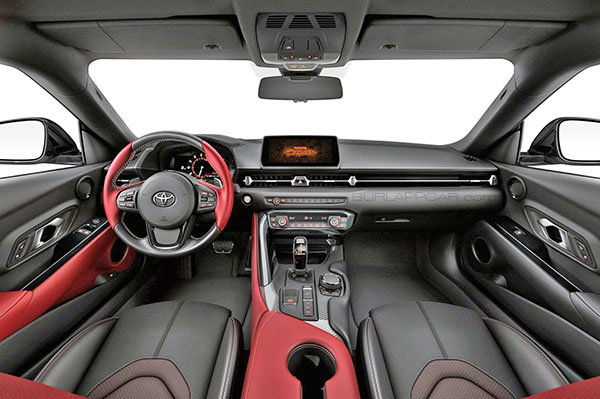 Burlappcar 2020 Toyota Supra