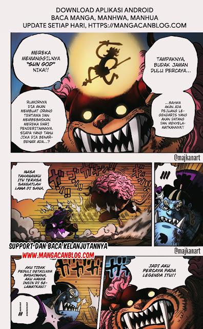 Manga One Piece Chapter 1018 Bahasa Indonesia