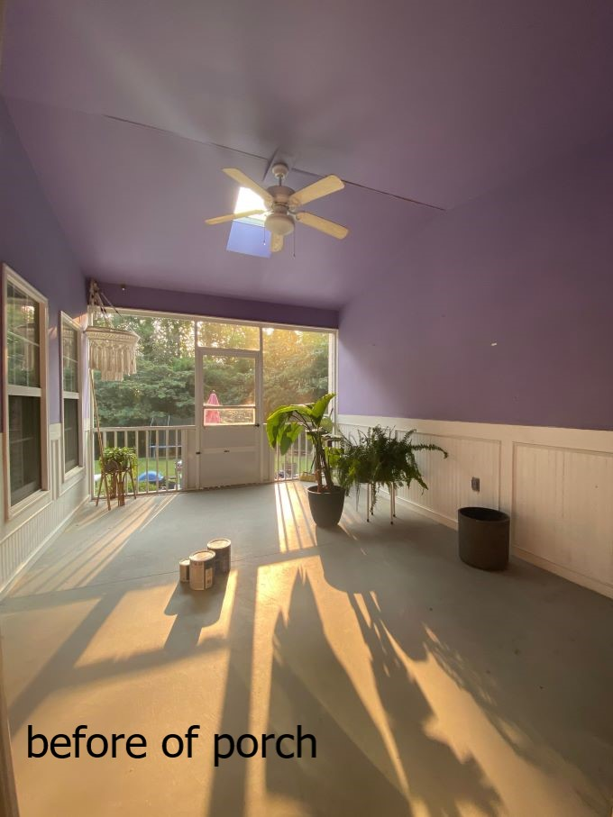 Our Porch Refresh: The Power Of Paint-before pic