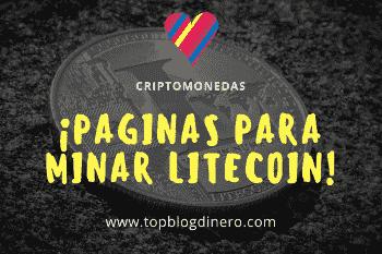 Las mejores páginas para minar Litecoin