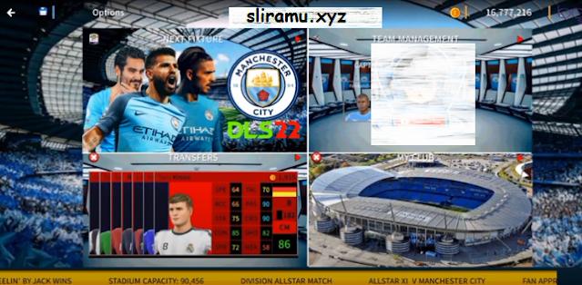 DLS 22 Mod Manchester City Update Kits & Transfer 21/22