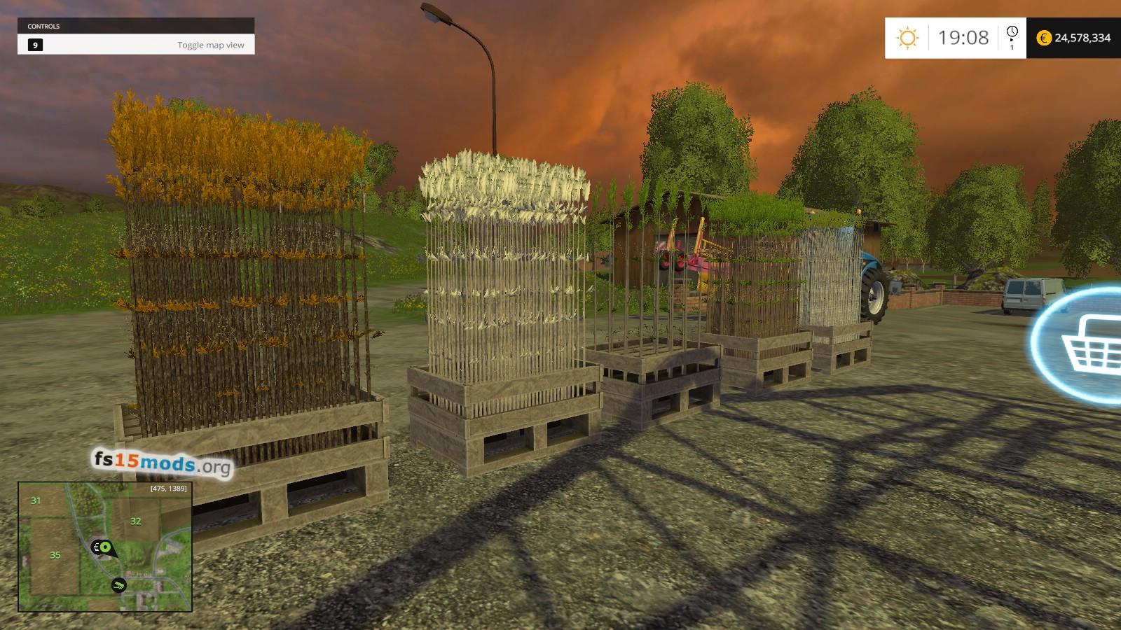 Big Seedling Pack Mod 1 4 More Trees Fs15 Mods