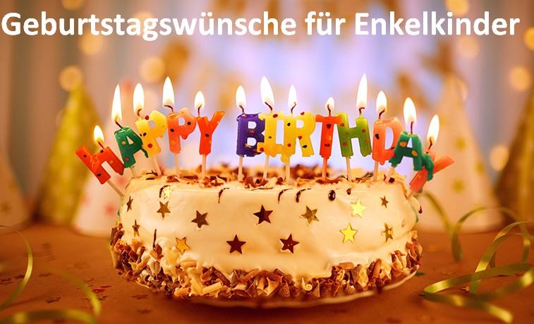 Geburtstagswünsche für Enkelkinder
