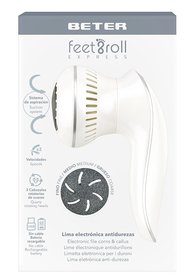 Feet & Roll Express de Beter