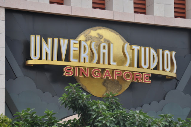 Universal Studios Singapore na Ilha Sentosa, em Cingapura