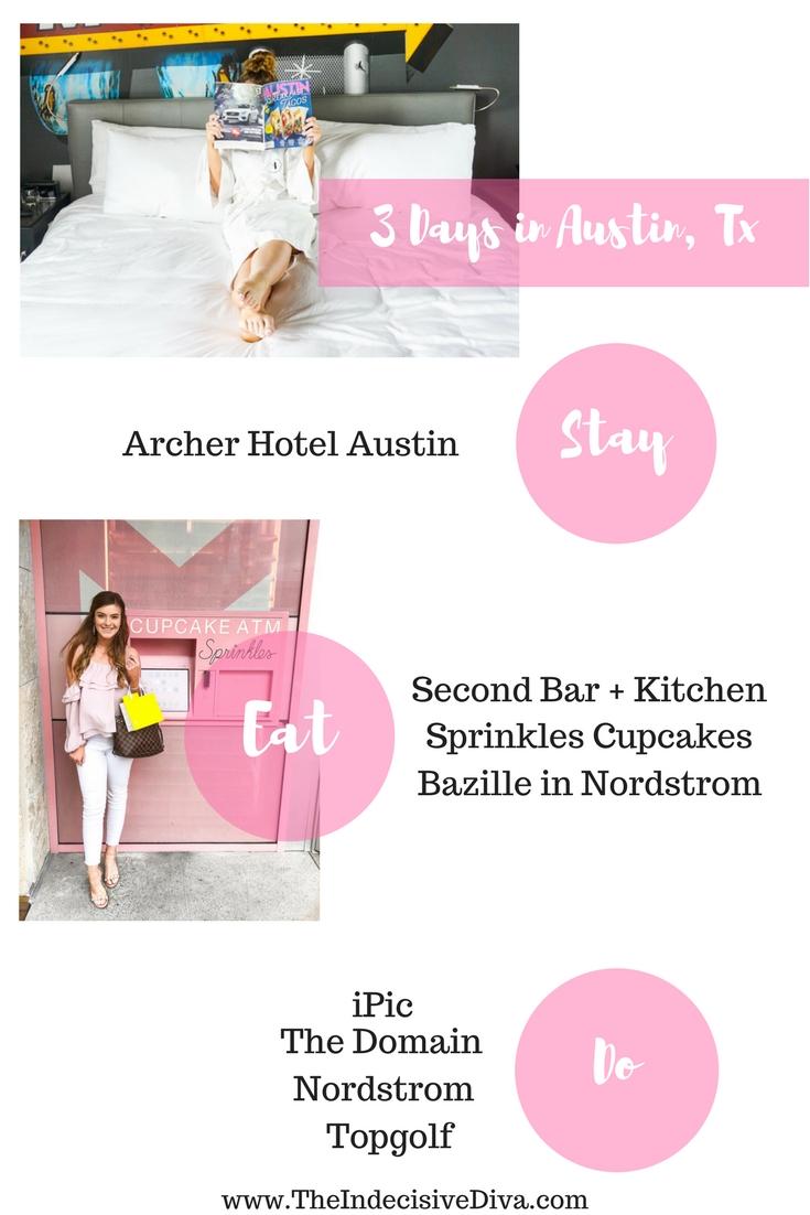 The Indecisive Diva: 3 Days in Austin, Tx