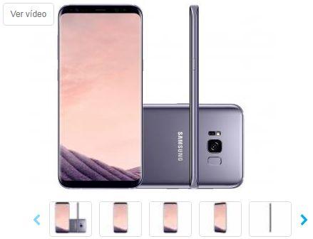Smartphone Samsung Galaxy S8+ 64GB Ametista 4G