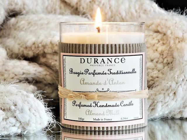 Amande d'Antan Durance avis, avis bougie amande d'antan, bougie parfumée durance, bougie parfumée cire naturelle, bougie parfumée française, parfum amande, bougie amande d'antan avis