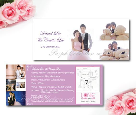 Wedding Invitation Envelopes Canada: Photo Wedding Invitation Card