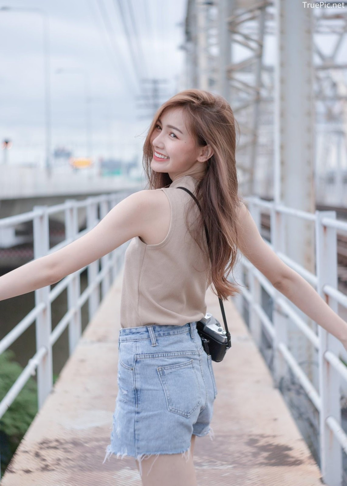 Thailand beautiful model - Pla Kewalin Udomaksorn - A beautiful morning with a cute girl - Picture 10