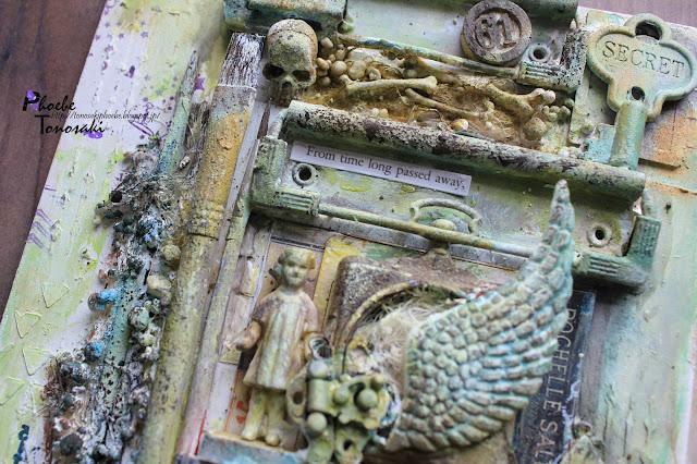 Mixed Media Ancient Clipboard by Phoebe Tonosaki
