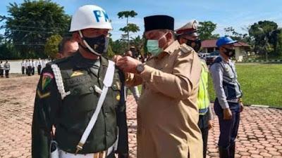 Bupati Aceh Singkil Pimpin Apel Patuh Seulawah, Ini Pesan yang Disampaikan