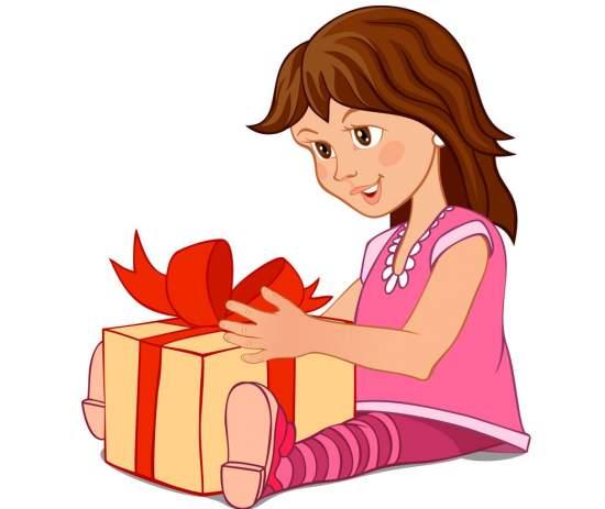 Memberikan Hadiah Kepada Anak Melalui Wahana Visi Indonesia