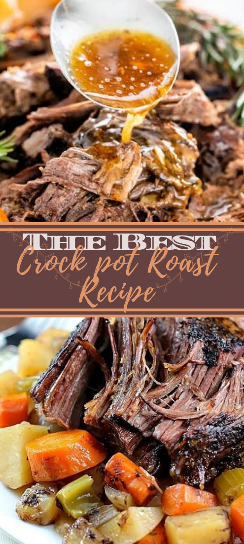 The Best Crock pot Roast Recipe #dinnerrecipe #food #amazingrecipe #easyrecipe