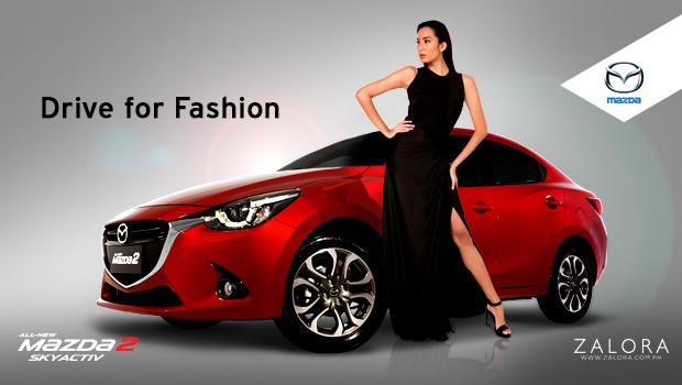 ZALORA and Mazda's Drive for Fashion Raffle Game