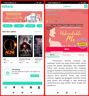 Cara Mendownload Cabaca Apk di Ponsel