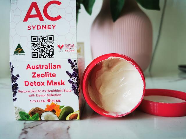 Australian Zeolite Detox mask