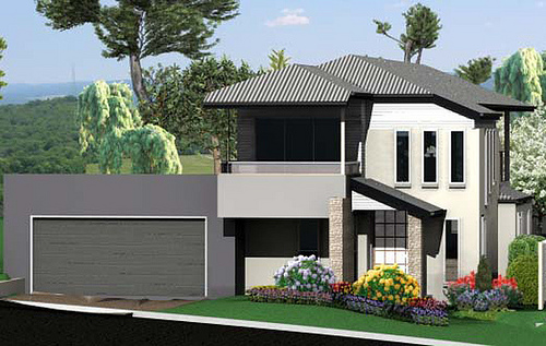 New Home Designs Latest.: Modern Small Homes Exterior Designs